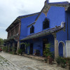 The Blue Mansion:The luxurious decorated interior and the mansion which made full use of feng shui.