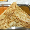 South India style crepe, thosai are delicious and cheap. It is recommended to breakfast and snacks!
